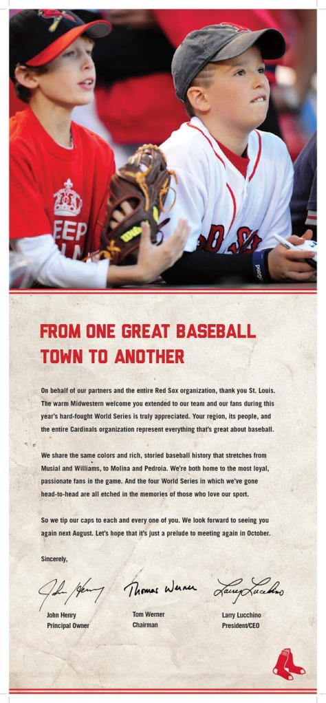 red sox st louis ad
