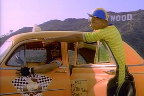 """Yo, home to Bel Air!"""